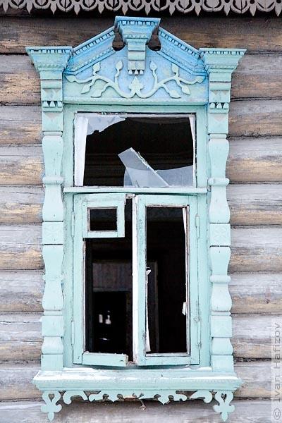 Broken Glass Window : Broken window open door