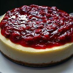 Chantal's New York Cheesecake Allrecipes.com.. LITERALLY the BEST ...