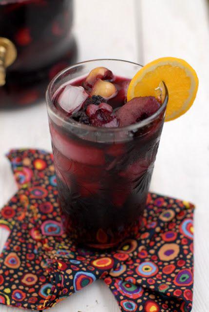 Summer Fruit Sangria | Boulder Locavore -- cherries, grapes ...
