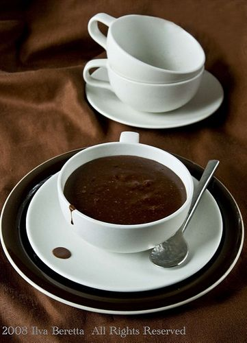 How to make you own cup of dense hot chocolate. : Lucullian delights ...