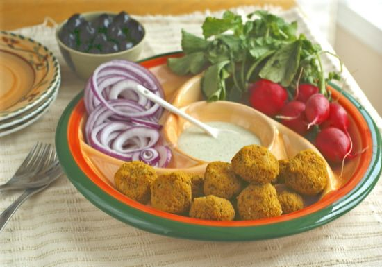 Baked Sweet Potato Falafel balls (#oilfree #vegan #grainfree #recipe ...