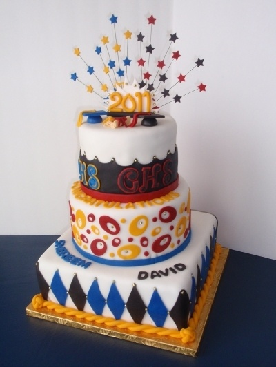 High School Graduations By ArtCakes2012 on CakeCentral.com