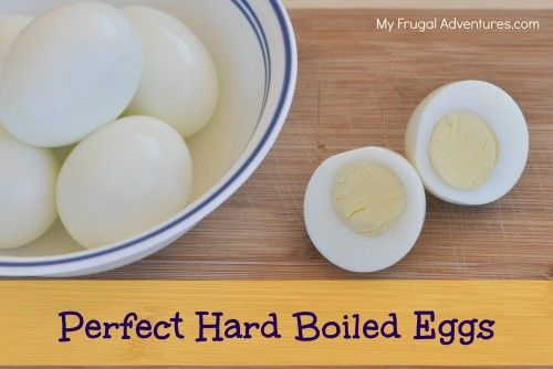 ... Hard Boiled Eggs - two simple methods to get perfect hard boiled eggs