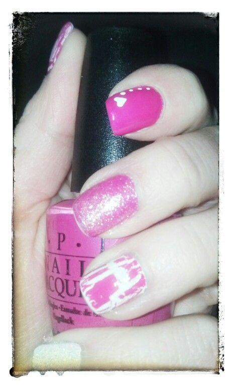 valentine nails pinterest