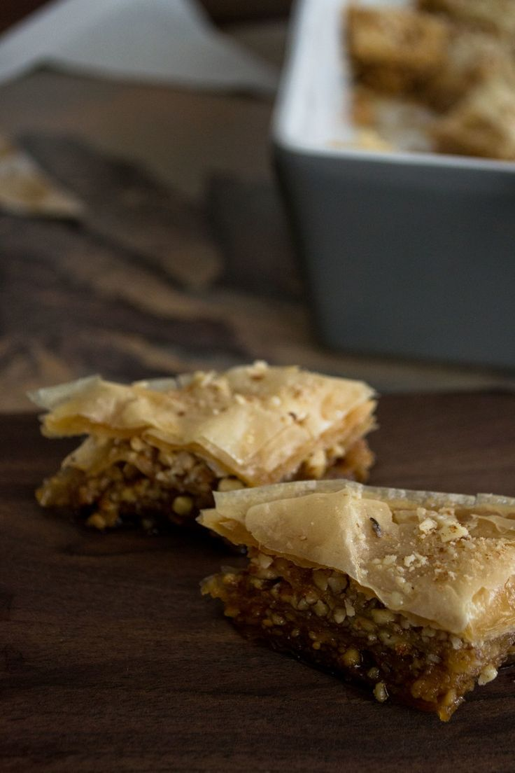 Almond Rosewater Baklava — Sift & Whisk