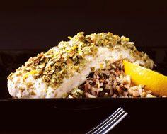 Tilapia with Pumpkin Seed Crust | food | Pinterest