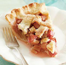 Lattice-Top Rhubarb Pie via Fine Cooking