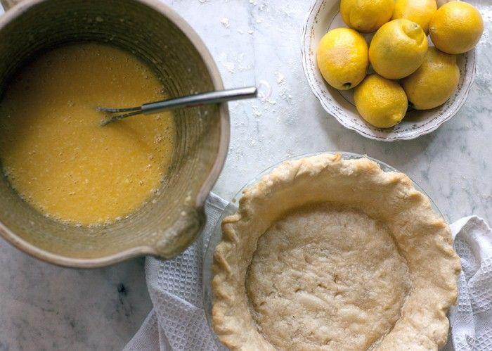 Buttermilk-Lemon Chess Pie Recipe — Dishmaps