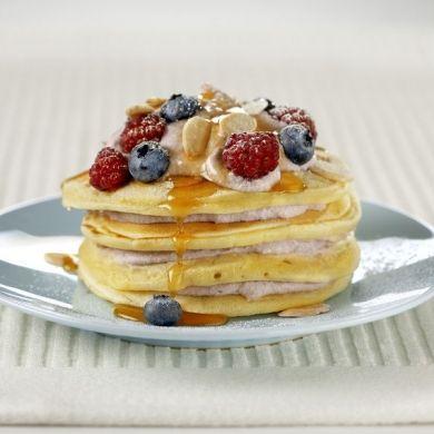 berry-ricotta-hotcakes #PerfectItaliano | {food. breakfast} | Pintere ...