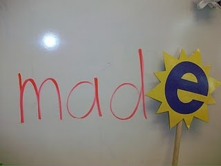 Magic E Wand...yep, that's gonna need to be mad(e) ;) hardy har har.