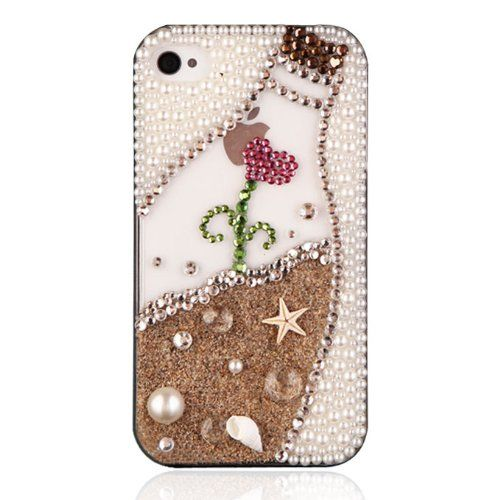 ZLYC Generic Original Phone Case For iPhone 4/4S-The Beach Bottle ZLYC ...