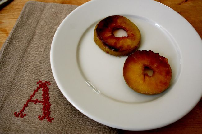 Sunday Brunch: Fried Apple Rings   Serious Eats : Recipes