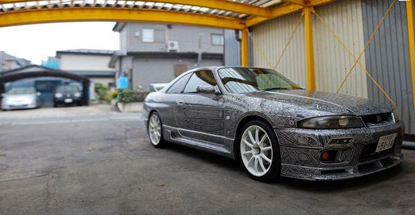 Skyline GTR Sharpie Art