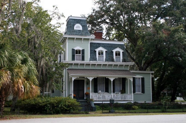 second empire home old houses pinterest