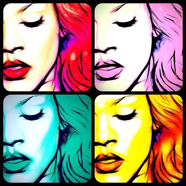 Pop Rihanna | Art Gallery | Pinterest Rihanna Instagram