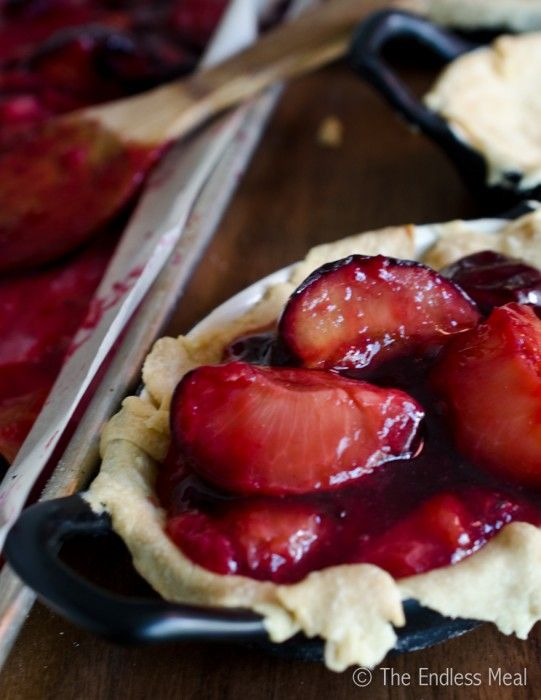 Roasted Black Plum and Mascarpone Pie | The Endless Meal (sub greek ...