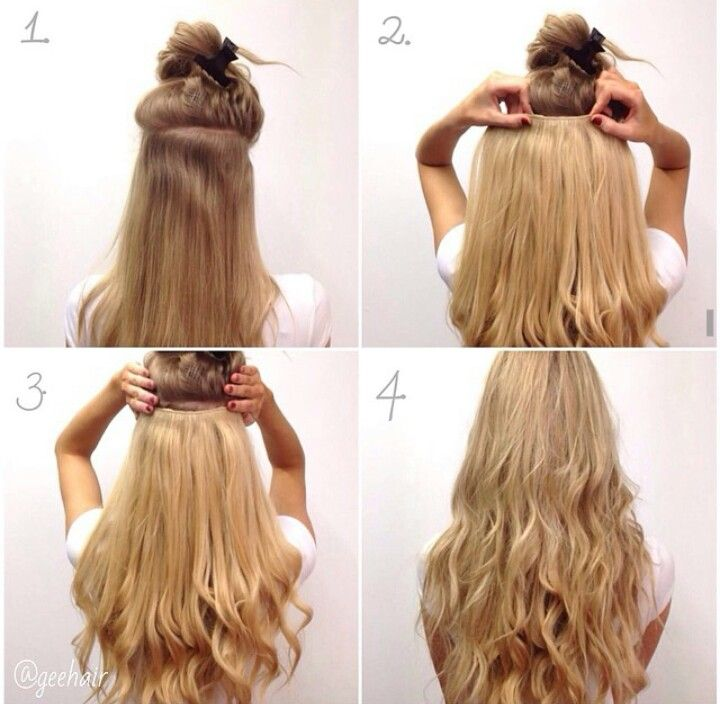 hairstyles with dreads : Clip in hair extensions Hairstyles Pinterest