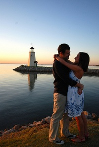Lake Hefner in Oklahoma City is a romantic spot to walk along the shore, take in a sunset over the water, or enjoy a meal in one of the many restaurants that offer a lake view.