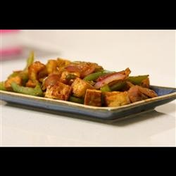 Hot and Spicy Tofu Allrecipes.com | Tofu | Pinterest
