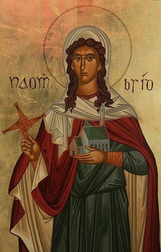 st brigid of kildare The holy abbess and wonder-worker saint brigid of kildare, ireland  saint  brigid (brigit, bridget), the mary of the gael, was born around.