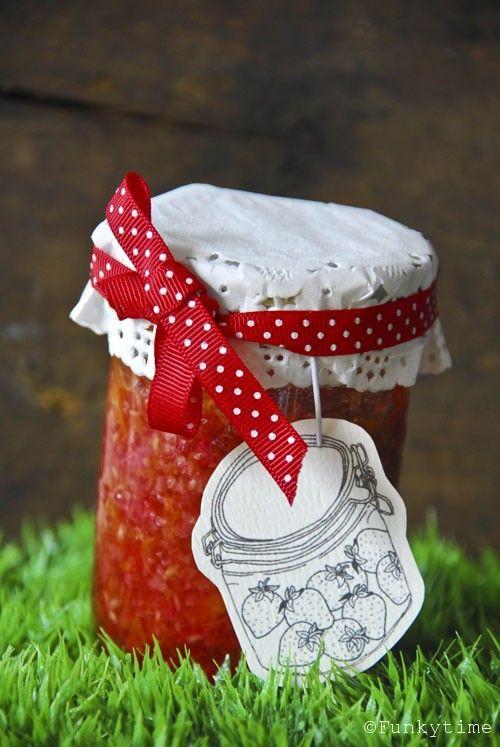 Homemade Jam {Sweet Things & Free Printable}
