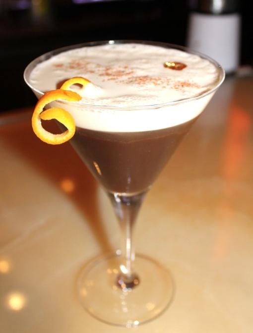 Black Spiked Cocoa Rumtini