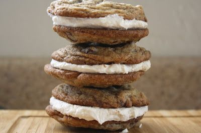 chocolate chip espresso sandwich cookies | Recipes to try (desserts ...