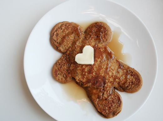 gingerbread pancakes | Breakfast | Pinterest