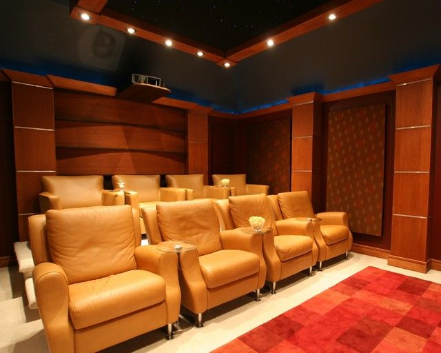 Home theater seating home theatre pinterest for Home theater seating design ideas