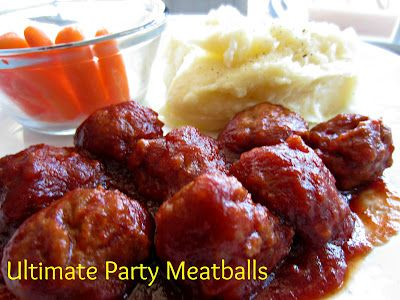 This Glorious Day: Friday's Fare: Ultimate Party Meatballs