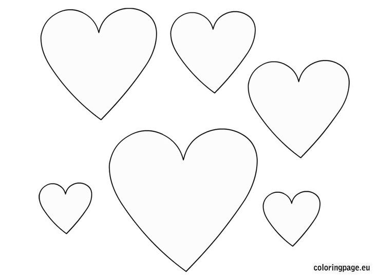valentine heart templates free