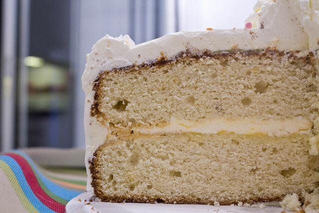 Lemon Curd Layer Cake | Recipes to Make | Pinterest