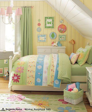 Daisy Garden Bedroom