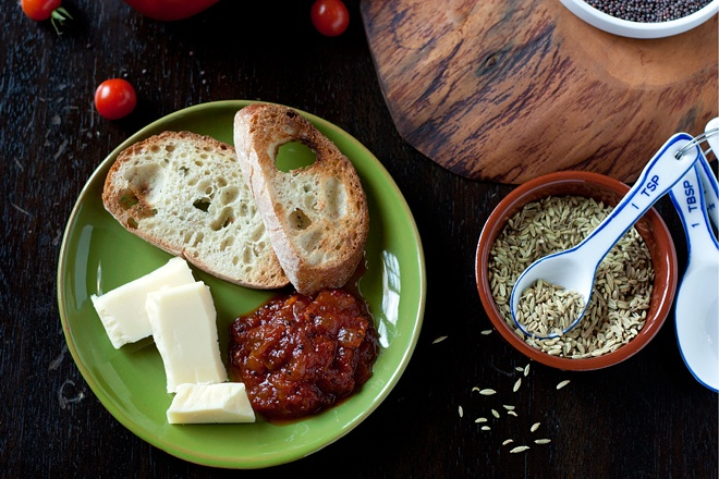 spicy Indian Tomato Chutney | Food: preserves/sauces/condiments | Pin ...