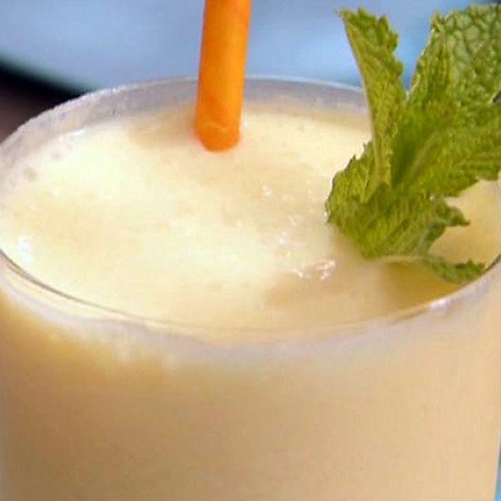 Mango-Peach Smoothie Recipe | Smoothies | Pinterest
