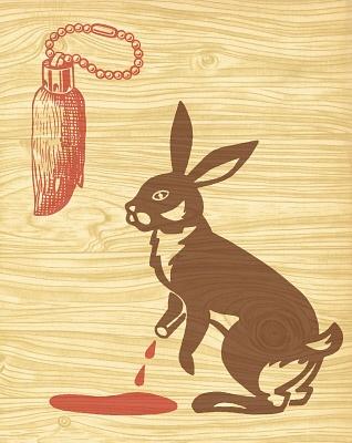 Illustration of Unlucky Rabbit's Foot | MISC. | Pinterest