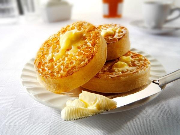 British: Crumpets | British: Food | Pinterest
