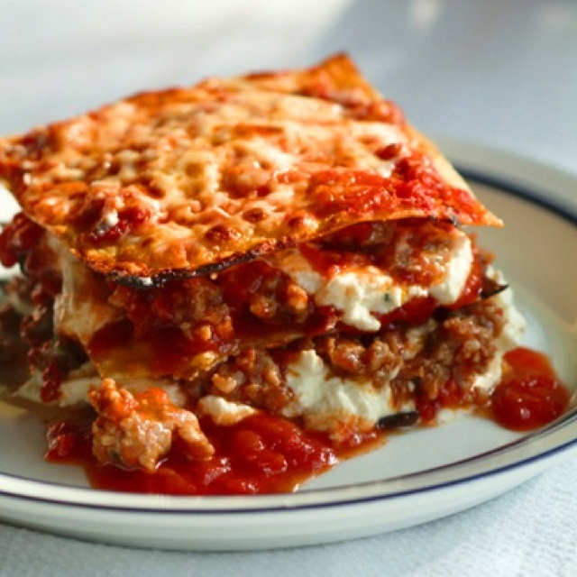 cheese 3 meat lasagne | Amazing Foods | Pinterest