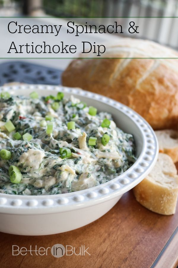 Must-try #recipe! Creamy Spinach & Artichoke Dip #ProudOfIt #ad # ...