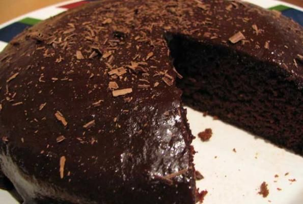 Easy Vegan Chocolate Cake | VegWeb.com, The World's Largest Collection ...