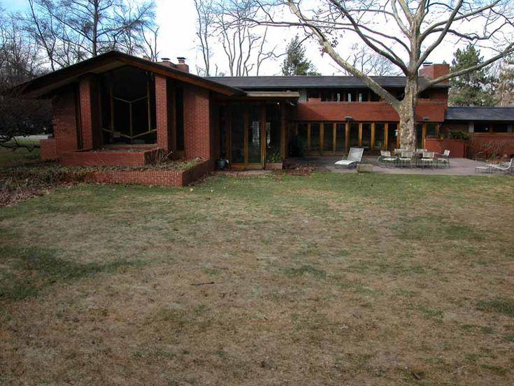 Frank Lloyd Wright Ranch House   Frank Lloyd Wright