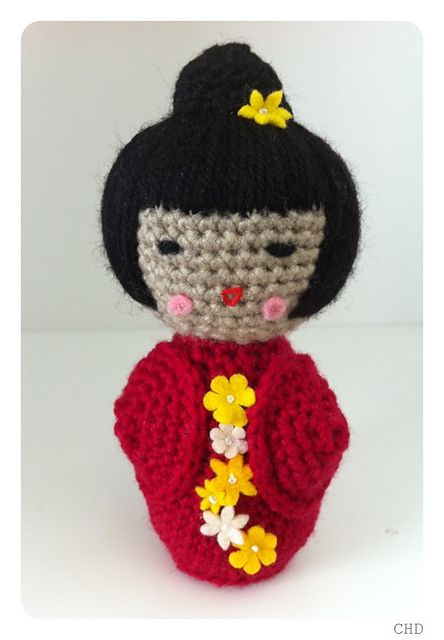 Japanese Amigurumi Doll Patterns : Pinterest: Discover and save creative ideas