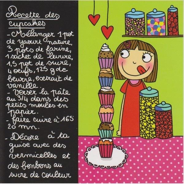 Recette des Cupcakes pour enfants | Gourmandises | Pinterest