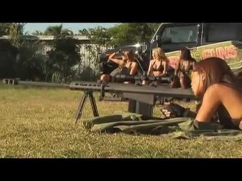 Girls And Guns - Sexy Girls Firing Automatic Weapons! 4 Linnea tries 50 Cal Rifle  http://violinonline.ru/index.php?key=barrett_rifle_.50cal_50bmg_.50=1