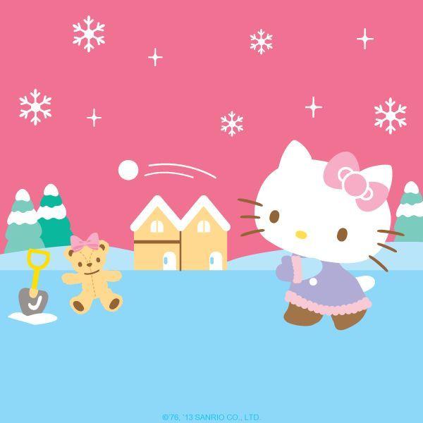 Hello Kitty loves winter | :: Hello Kitty :: | Pinterest