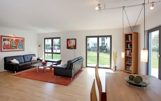 fertighaus.net - Wohnideen - Wohnzimmer Klassisch Modern