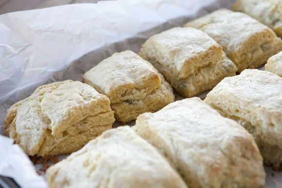 Macheesmo's blue cheese biscuits