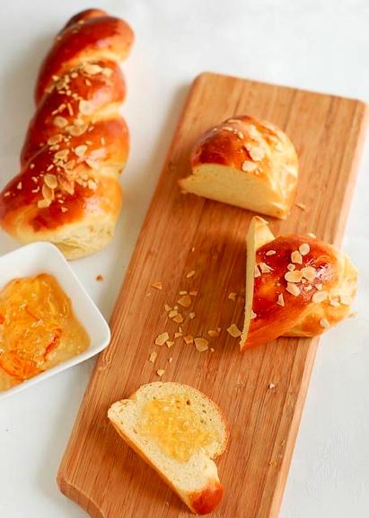 Tsoureki (Greek Easter Bread) | Bon appetit! | Pinterest