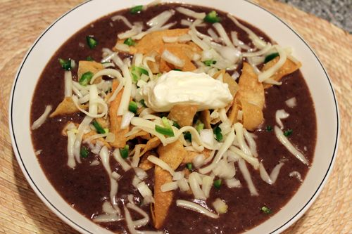 Hearty Bean & Chipotle Soup | Soups~Stews~Chowders | Pinterest