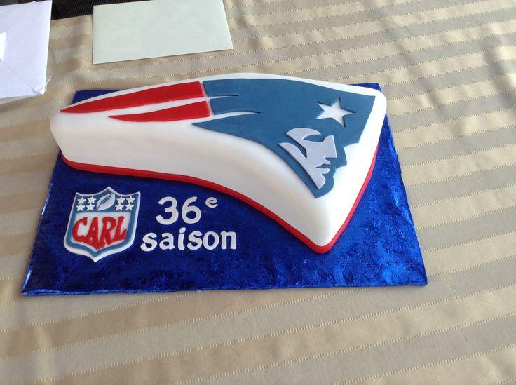 patriot football cakes